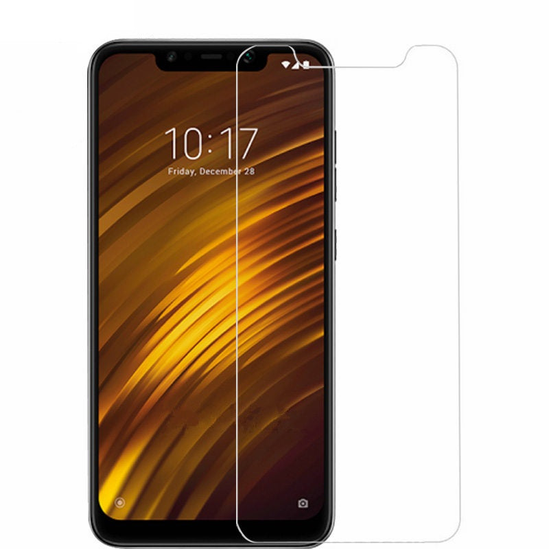 Xiaomi Pocophone F1 Tempered Glass Screen Protector Guard (Case Friendly)