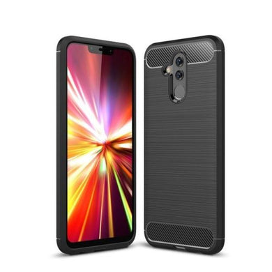 Huawei Mate 20 Lite Case Carbon Fibre Black