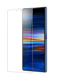 Sony Xperia 10 Plus Tempered Glass Screen Protector Guard (Case Friendly)