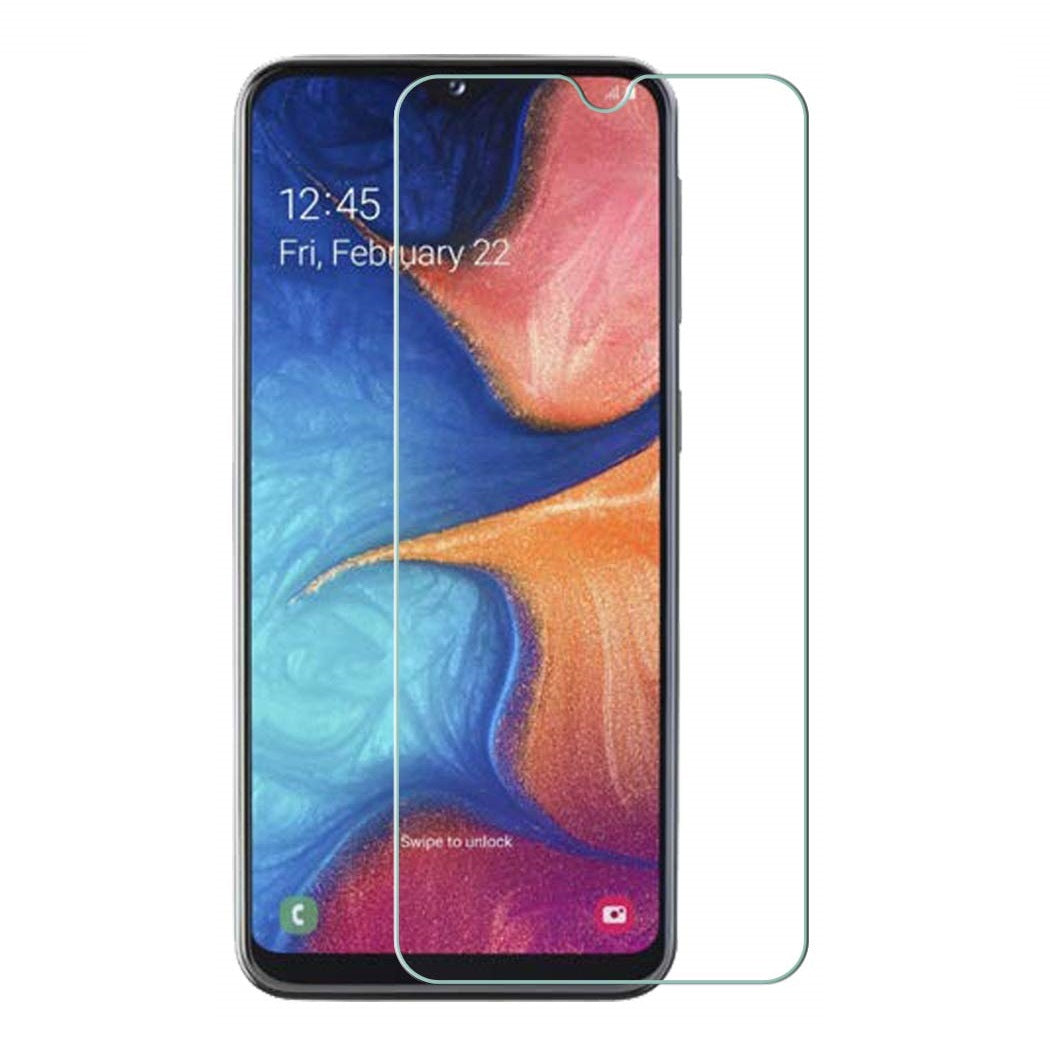 Samsung Galaxy A20e Tempered Glass Screen Protector Guard (Case Friendly)