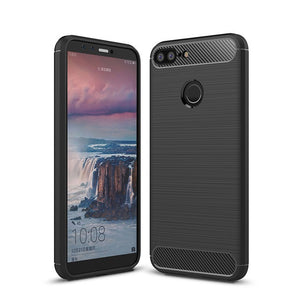 Huawei Honor 9 Lite Case Carbon Fibre Black