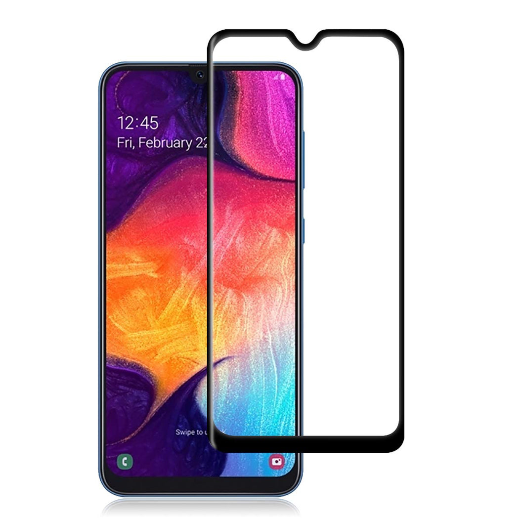 Samsung Galaxy A50 Tempered Glass Screen Protector Full Coverage