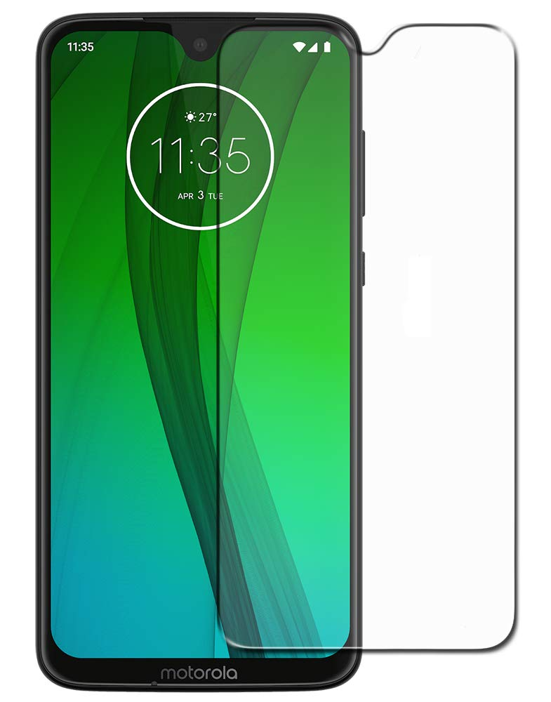 Motorola Moto G7 Tempered Glass Screen Protector Guard (Case Friendly)