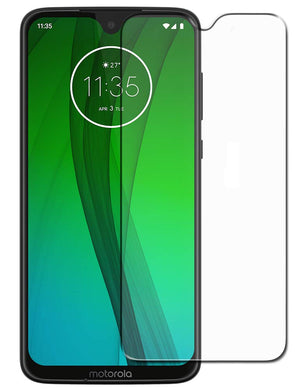 Motorola Moto G7 Plus Tempered Glass Screen Protector Guard (Case Friendly)