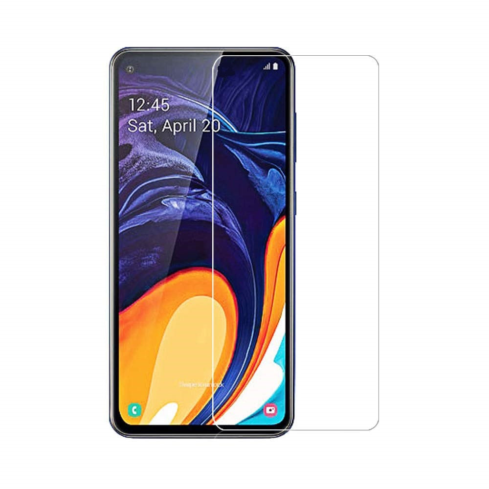 Samsung Galaxy A60 Tempered Glass Screen Protector Guard (Case Friendly)
