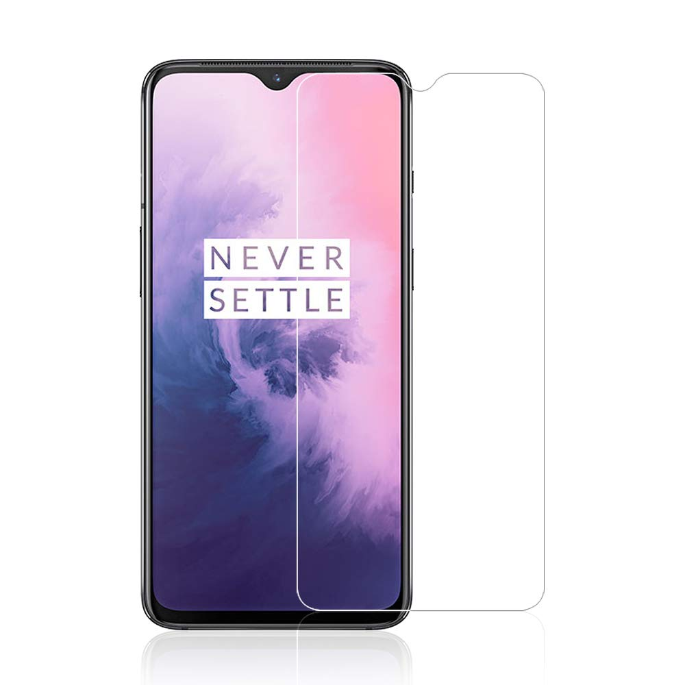 OnePlus 7 Tempered Glass Screen Protector Guard (Case Friendly)