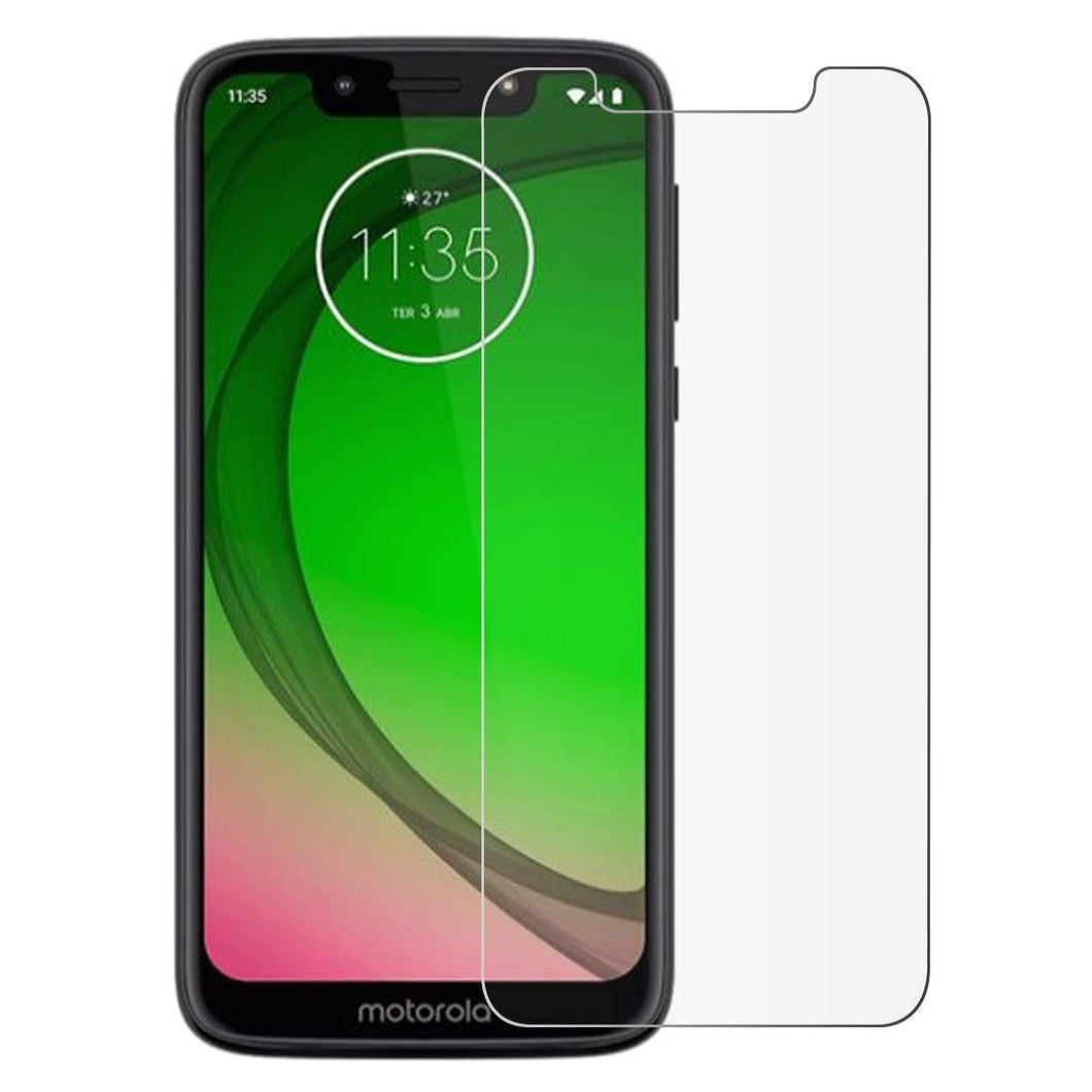 Motorola Moto G7 Play Tempered Glass Screen Protector Guard (Case Friendly)