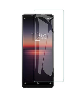 Sony Xperia 1 II Tempered Glass Screen Protector Guard (Case Friendly)
