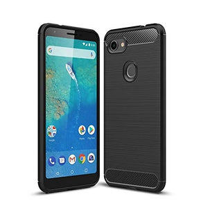 Google Pixel 3a XL Case Carbon Fibre Black