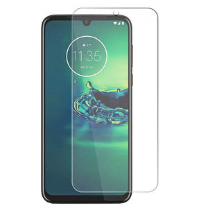 Motorola Moto G8 Plus Tempered Glass Screen Protector Guard (Case Friendly)