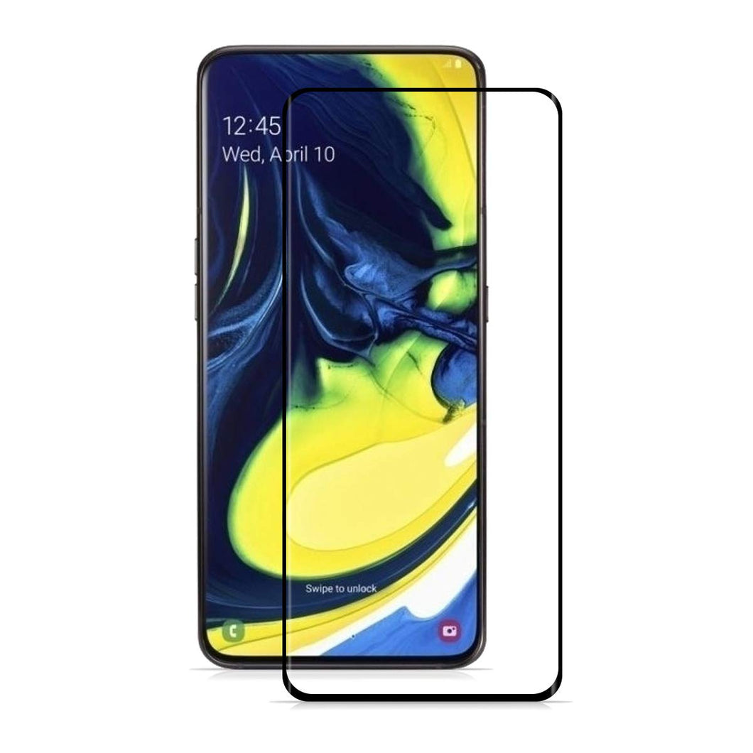 Samsung Galaxy A80 Tempered Glass Screen Protector Full Coverage