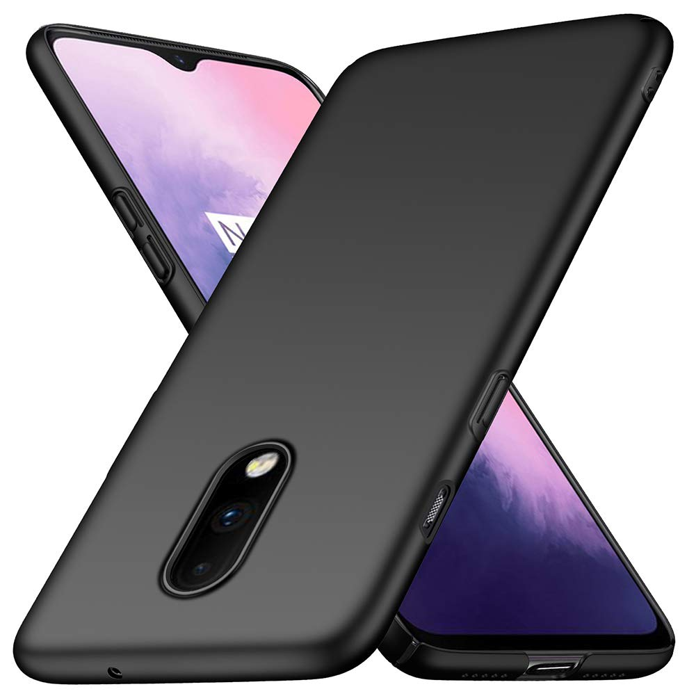 OnePlus 7 Case Soft Gel Matte Black