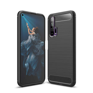 Honor 20 Pro Case Carbon Fibre Black