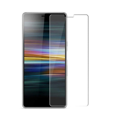 Sony Xperia L3 Tempered Glass Screen Protector Guard (Case Friendly)