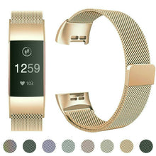 Fitbit Charge 3 Luxury Milanese Loop Band Strap
