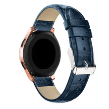Samsung Galaxy Watch 42mm Crocodile Leather Watch Band Strap