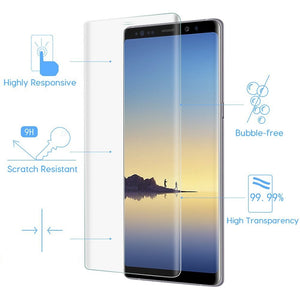 Samsung Galaxy Note 8 Full Coverage Tempered Glass Screen Protector