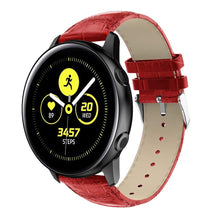 Samsung Galaxy Watch Active Crocodile Leather Watch Band Strap