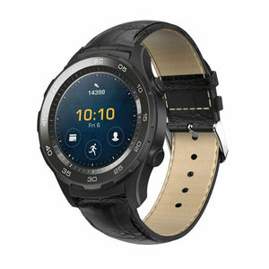 Huawei Watch 2 Classic / Pro Crocodile Leather Watch Band Strap