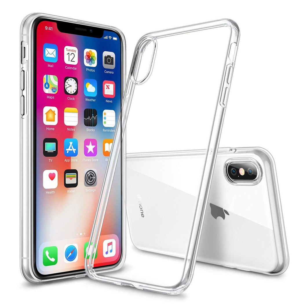 iPhone X Gel Case Clear