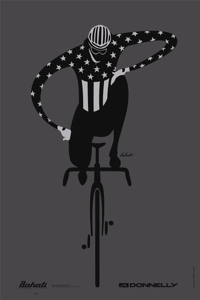 BAHATI DONNELLY CYCLING EQUALITY POSTER