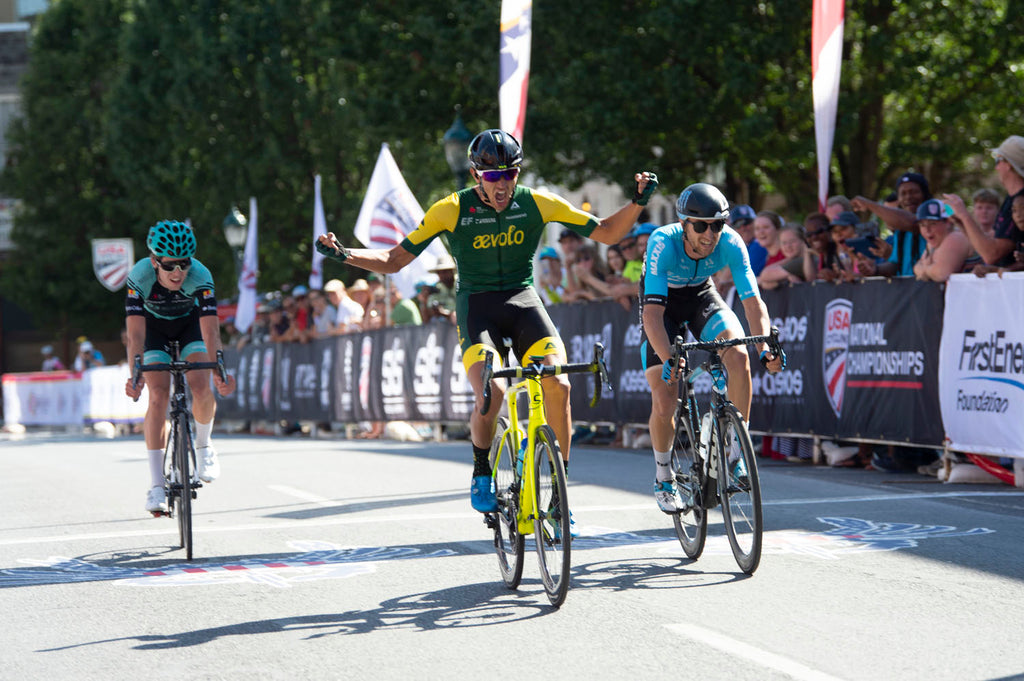Aevolo U23 Team Wins on the Donnelly LCV road tires