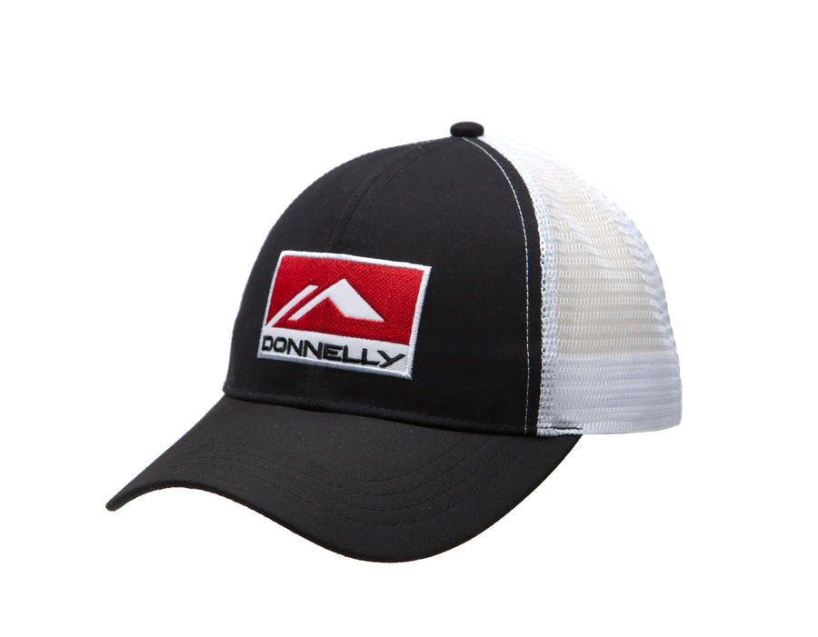 Donnelly Trucker Hat - Curved Bill, Black