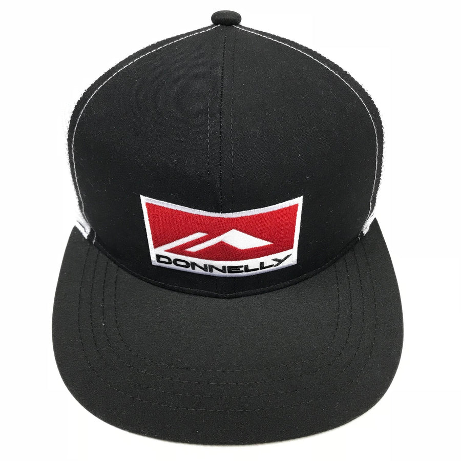 Donnelly Trucker Hat - Flat Bill, Black