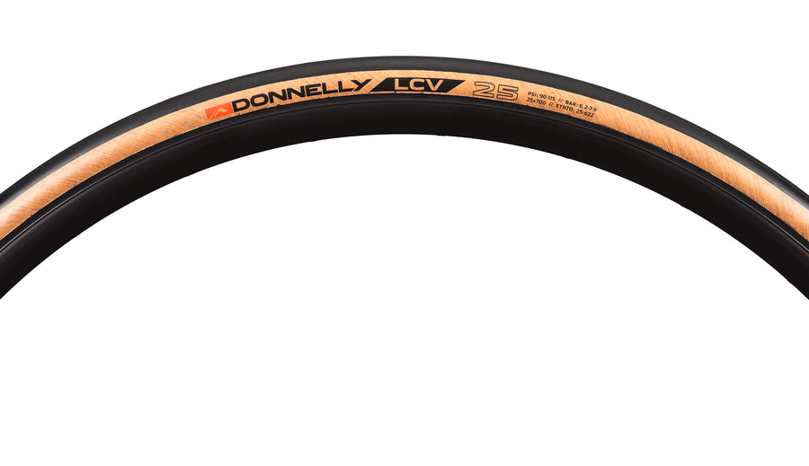 LCV 700 x 25 - 240 TPI Folding Bead Clincher - Tan Sidewall