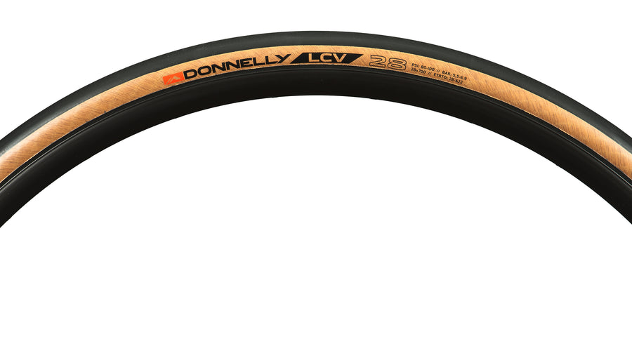 LCV 700 x 28 - 240 TPI Folding Bead Clincher - Tan Sidewall