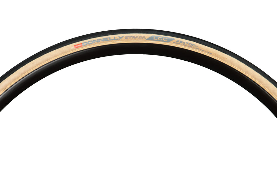 Strada LGG 700 X 25 - 60 TPI Folding Bead Clincher - Tan Sidewall