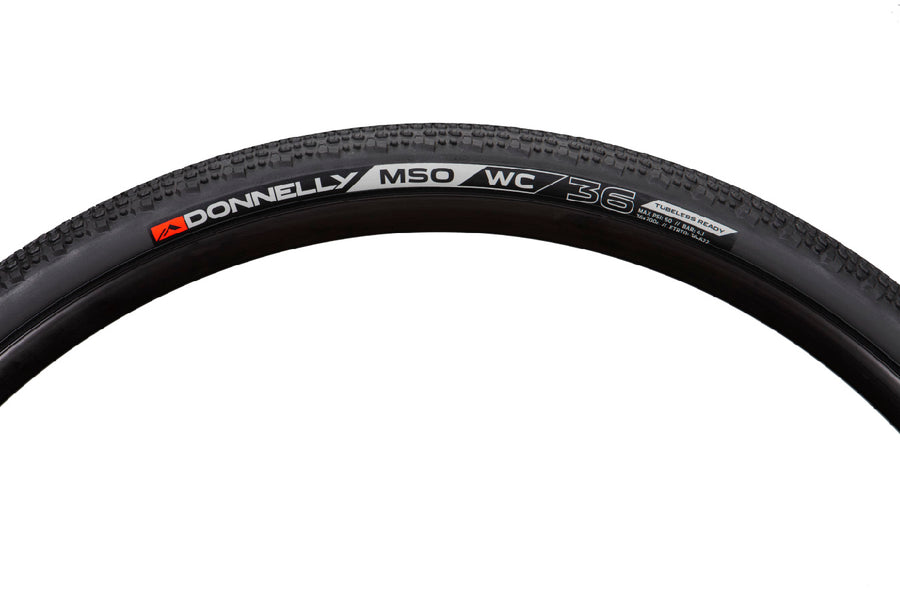 X'Plor MSO WC 700 X 36 - Tubeless Ready Clincher Black