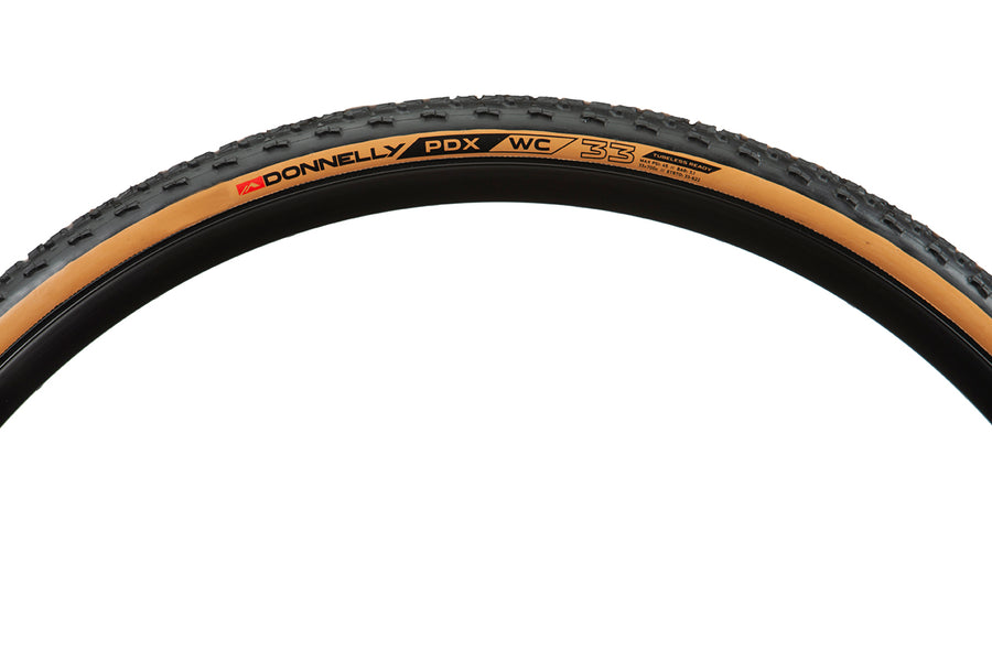 PDX WC 700 x 33 - Tubeless Ready Clincher - Tan Sidewall