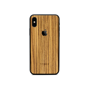 Iphone cover - Zebrawood