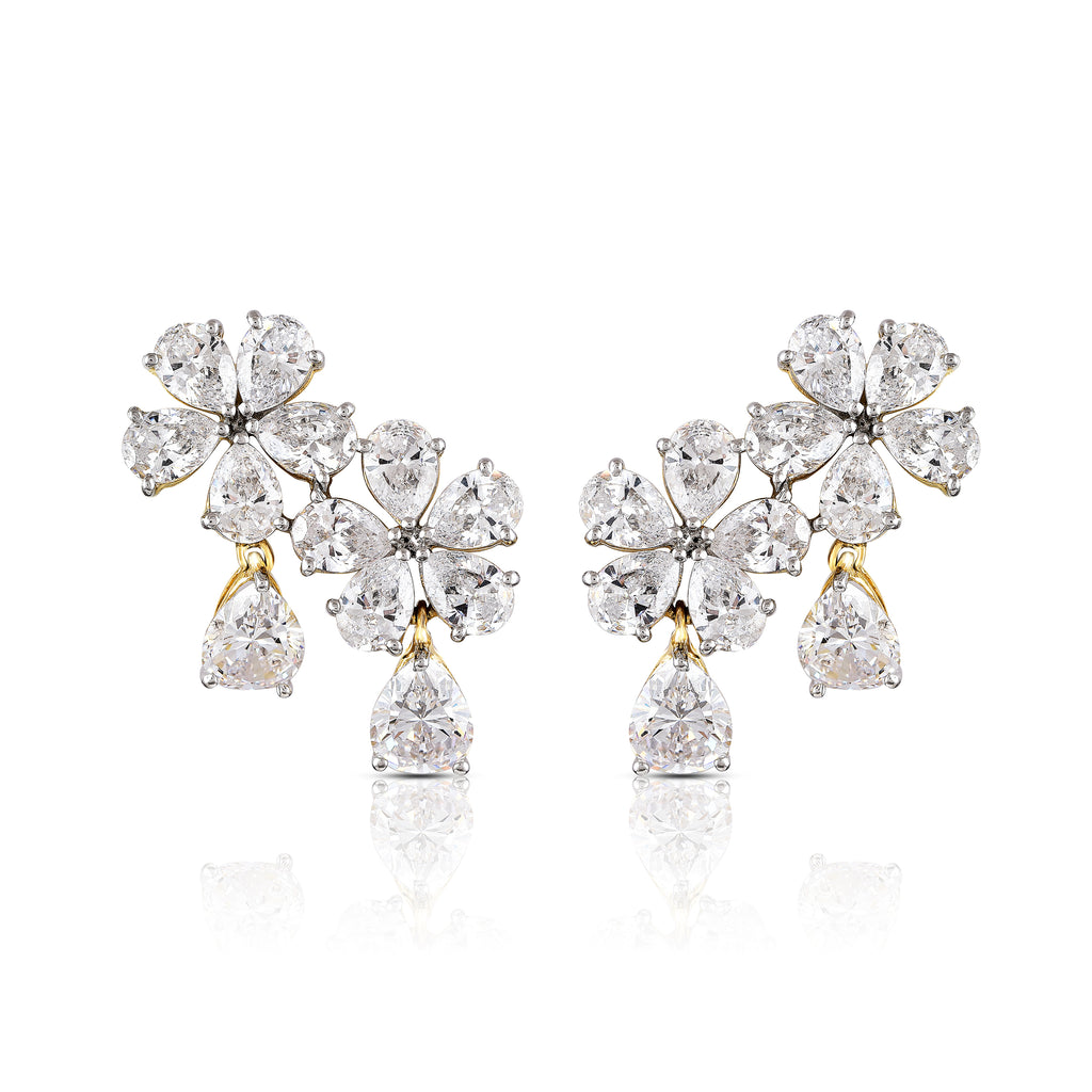 M❣L Red Carpet Floret Driblet Earring