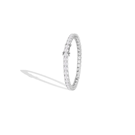 m2l pretty princess bangle in sterling silver