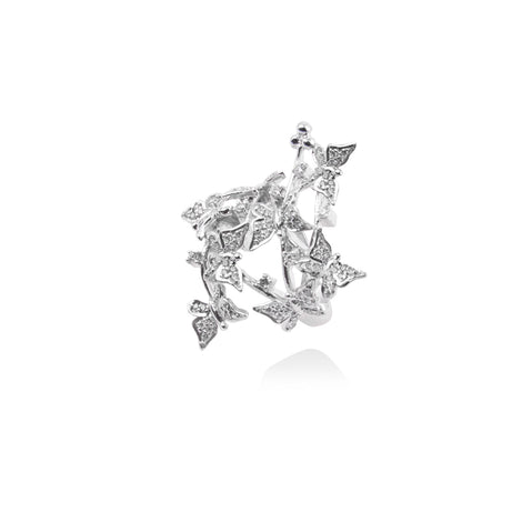 m2l bunch of butterflies ring in sterling silver