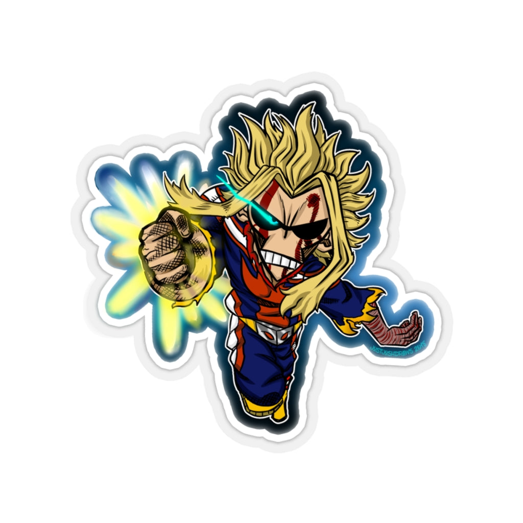Hero of the dimming light ( Kiss-Cut Stickers )