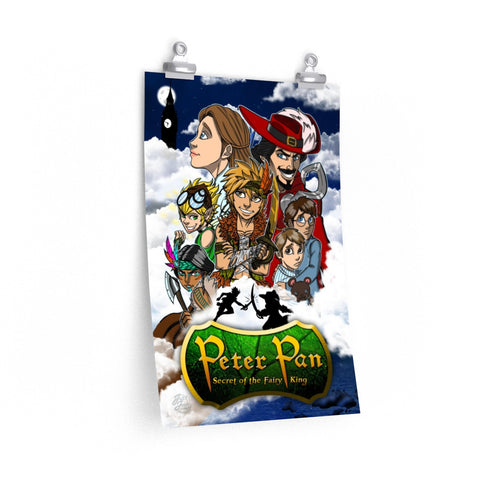 Legends Retold : Peter Pan ( Secret of the Fairy King) Premium Matte vertical poster