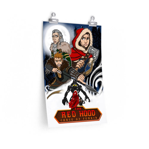 Legends Retold :  Little Red Hood Premium Matte vertical poster