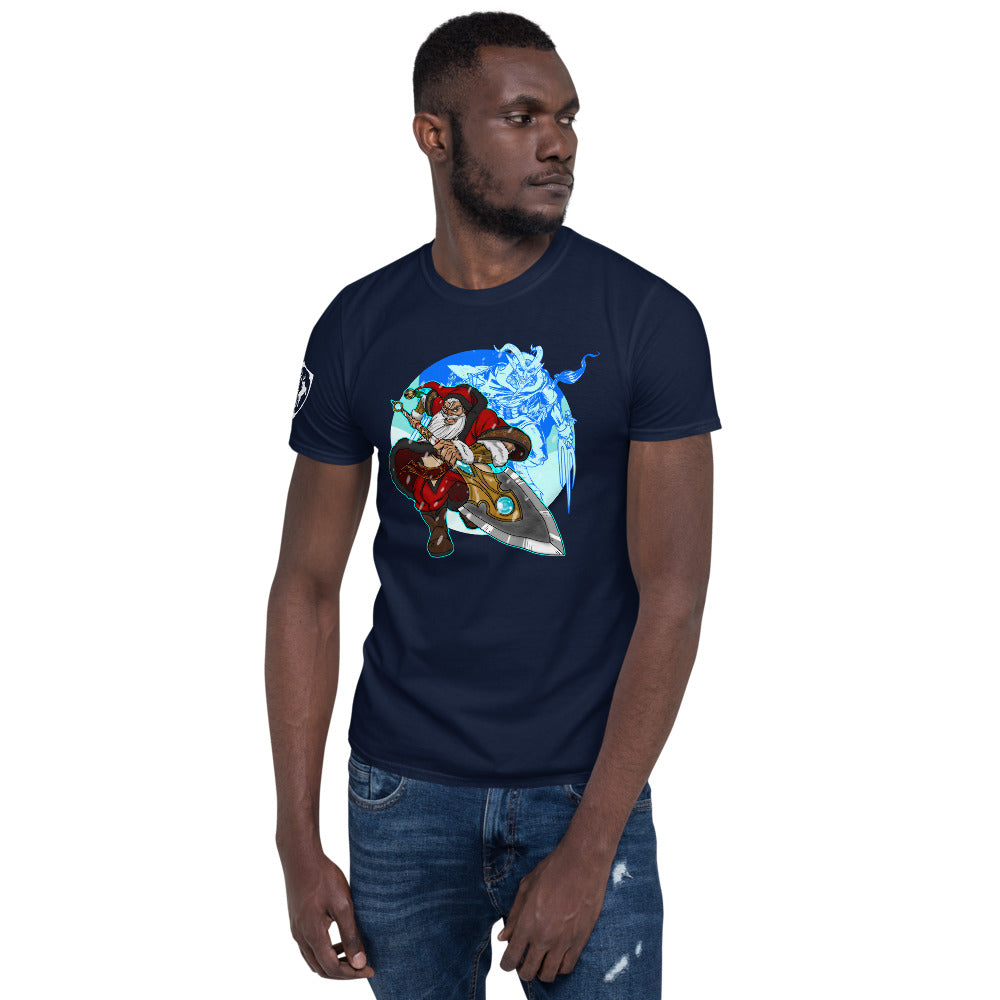 Legends Retold: St. Nicholas the Guardian of Innocence  ( Short-Sleeve Unisex T-Shirt )