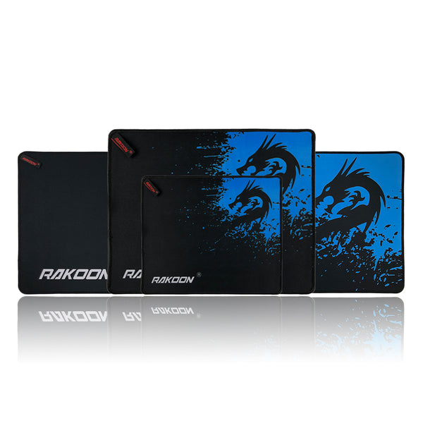 Rakoon Gaming Mouse Pad - Blue Dragon speed/control