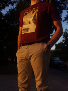 Pure Maroon T-Shirt by Offense Studios®