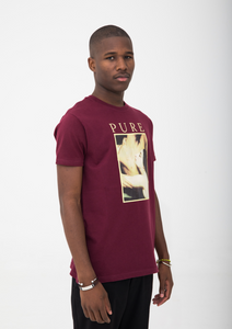 Pure Maroon T-Shirt