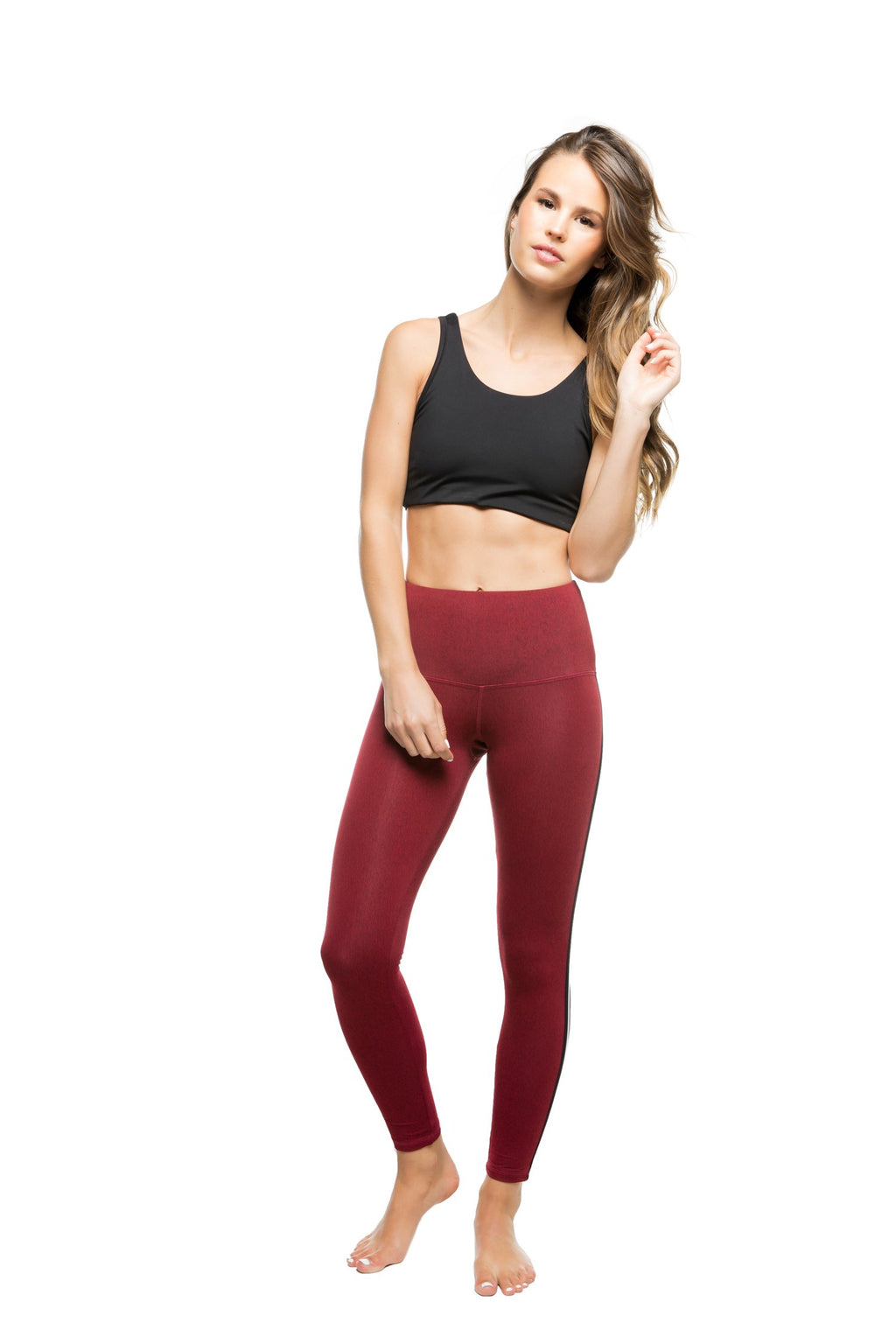 Sage Legging: Red Heather