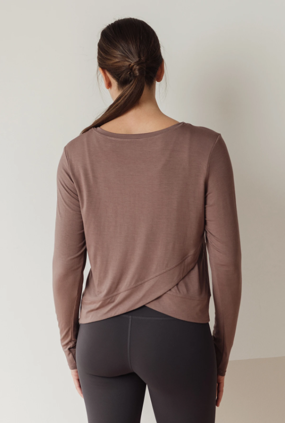 Infinity Long Sleeve: Taupe