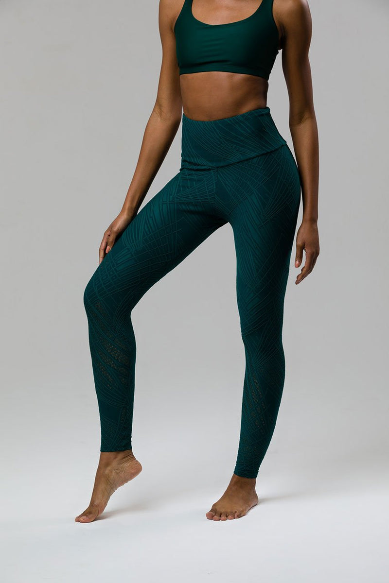 Selenite Midi Legging: Alpine