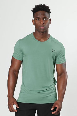 Root Performance Bamboo Crew Neck: Lakeshore
