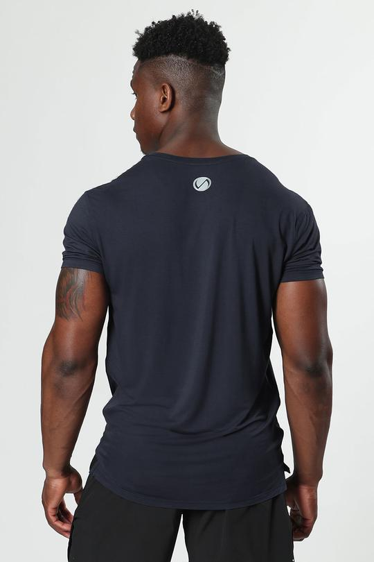 Root Performance Bamboo Crew Neck: Navy