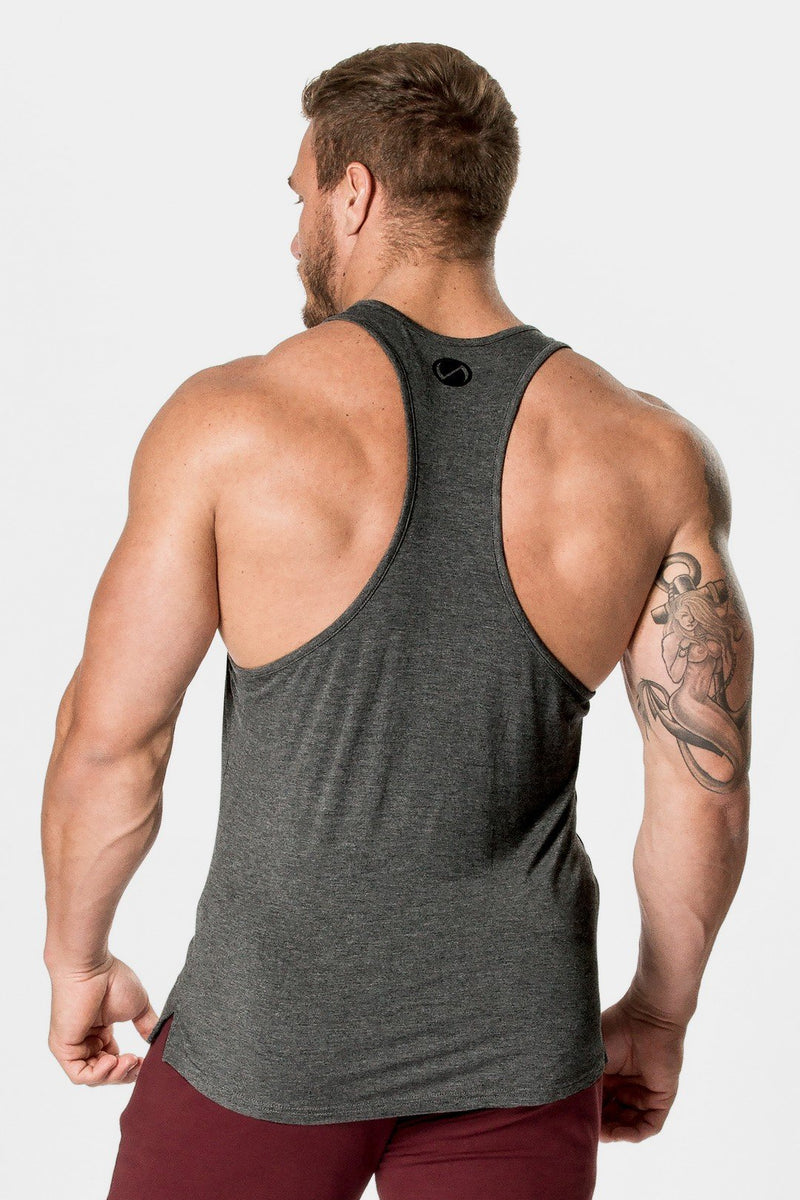 Tactic Performance Bamboo Tank: Charcoal Heather